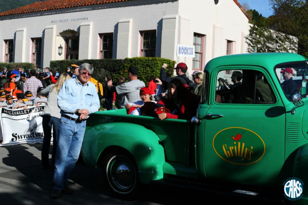 Mill Valley Little League Opening Day Parade - Grilly's truck